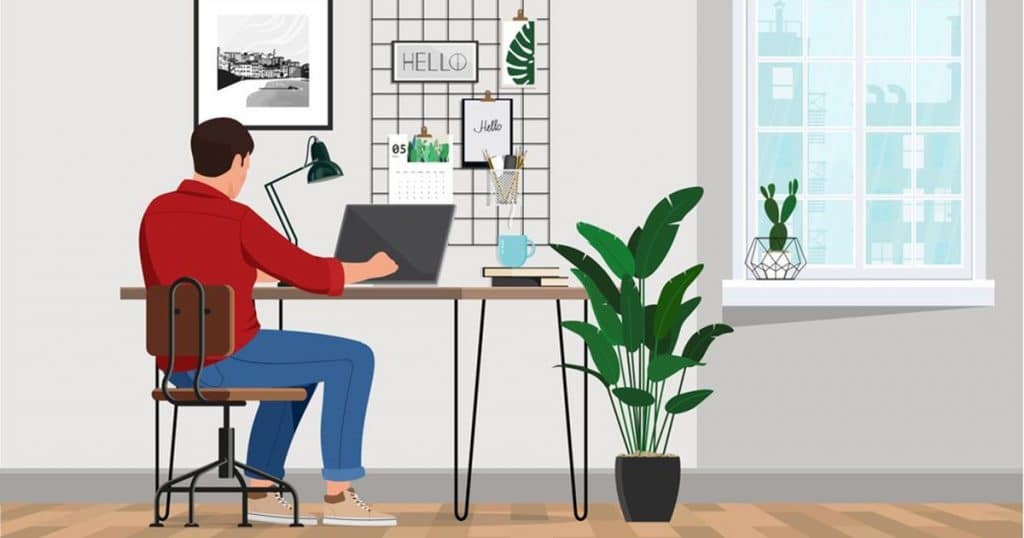 9 Tips For Being Productive While Working Remotely